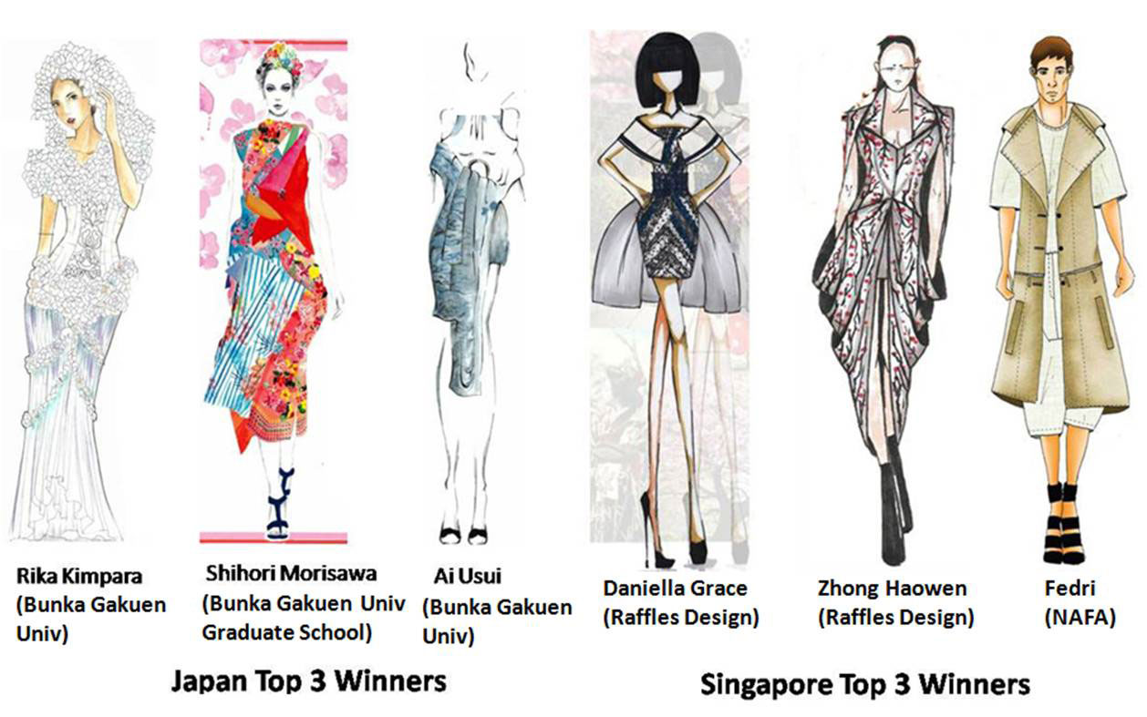 Fashion Design Contest Drawings