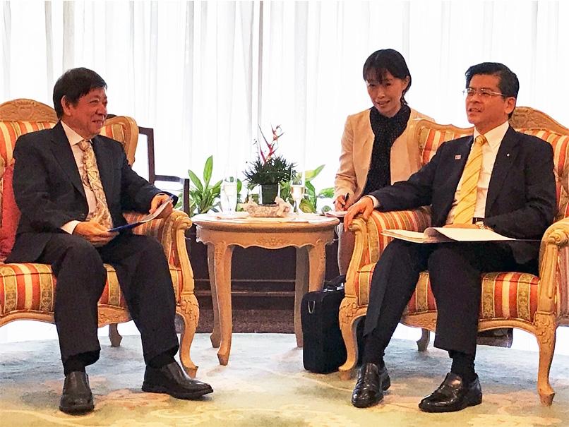 日本外交 - 石井国土交通大臣のシンガポール訪問(高速鉄道関係、2018 ...